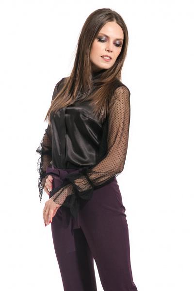 Блуза с романтическим рукавом, Б-239